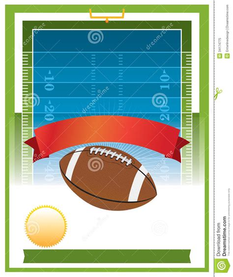 American Football Tailgate Party Flyer Design Stock Vector Illustration Of Illustration Free Tailgate Flyer Template