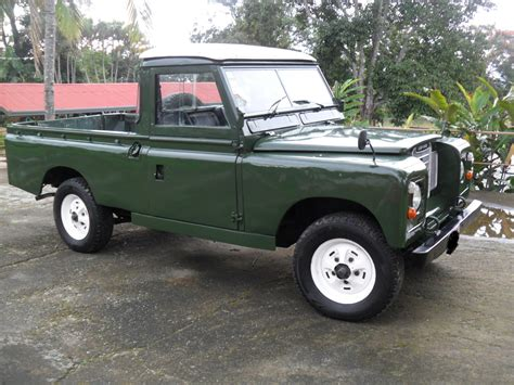 land rover truck for sale 1969 diesel 109 series ii land rover up truck land