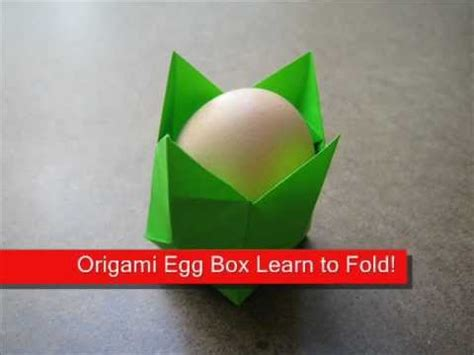 origami egg holder how to make an origami egg holder