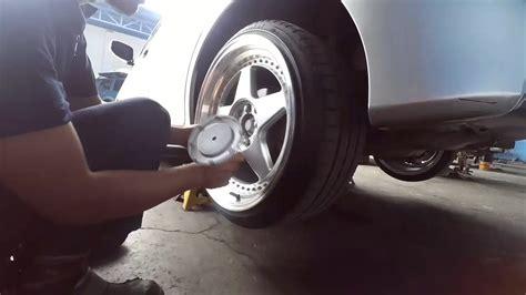 Bearing Roda Belakang Yaris Lahar Roda Belakang Yaris cara ganti bearing klaher roda belakang toyota yaris
