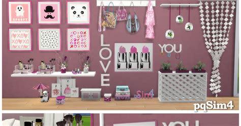 clutter 4 custom content sims quot tania quot girly clutter sims 4 custom content