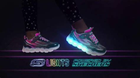 s lights powered by skechers skechers s lights tv commercial release your imagination