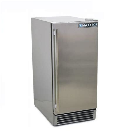maxx 3 cu ft mini outdoor refrigerator in stainless