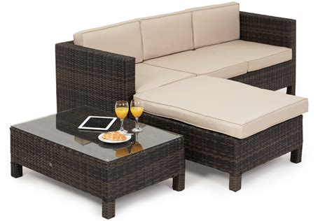 rattan sofa set maze rattan la corner sofa set corner groups sofa
