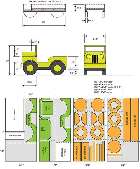 jeep bed plans how to build a jeep bed jeep furniture pinterest