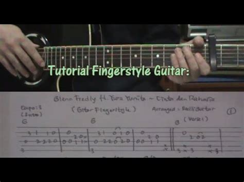 tutorial fingerstyle lagu indonesia tutorial cinta dan rahasia glenn ft yura on fingerstyle