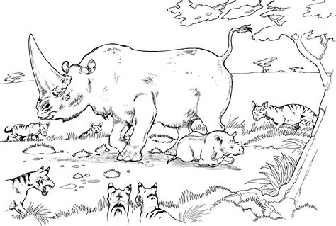 animal habitat coloring pages just colorings