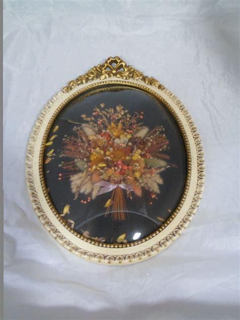 barok stijl bloemen gedroogde bloemen in barok kader