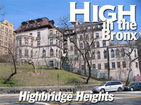 highbridge section of the bronx highbridge heights bronx forgotten new york