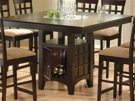 Square Counter Height Dining Table Sets Square Height Table