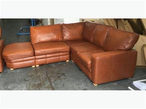 Brown Leather Corner Sofa Uk Brown Leather Corner Sofa High Quality We Deliver Smethwick Sandwell