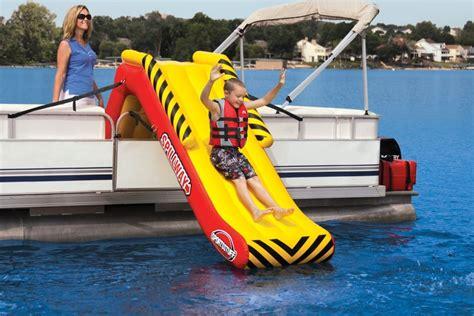 boat towables new kwik tek towables pontoon deck boat magazine