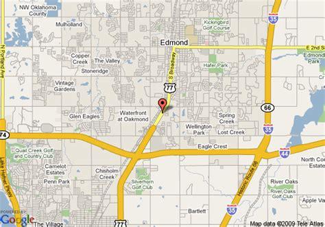map  sleep inn edmond edmond