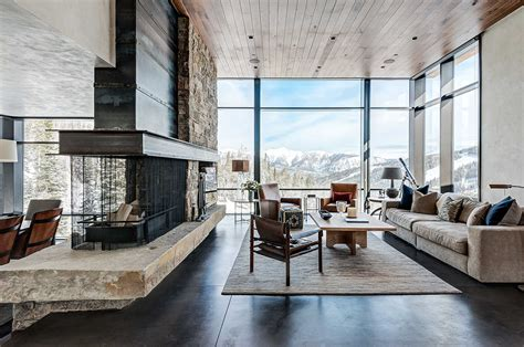 modern home interior decoration pearson design mountain modern