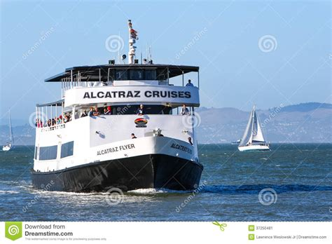 san francisco bay area boat tours san francisco alcatraz cruise ferry boat editorial photo