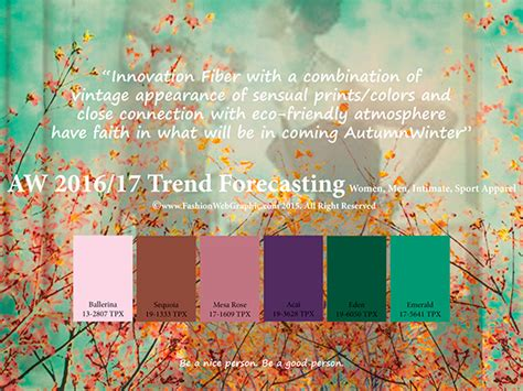 2017 trend forecast aw2016 2017 trend forecasting on pantone canvas gallery