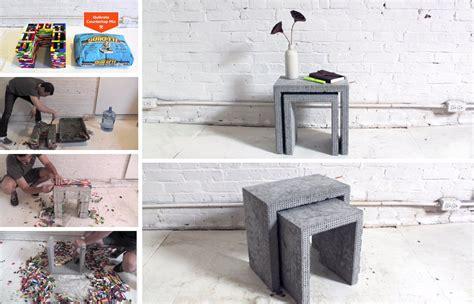 diy lego table concrete fiery diy make your own cool modern concrete pit