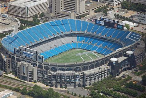 parking at bank of america stadium nc bank of america stadium nc seating chart view