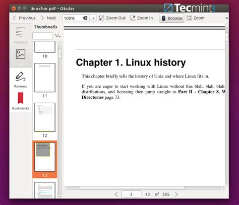 best pdf reader linux 8 best pdf document viewers for linux systems