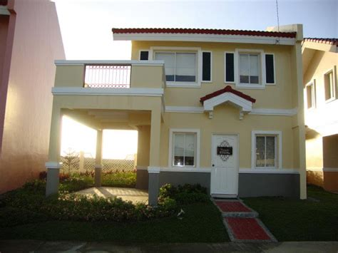 camella homes design with floor plan carmela model house of camella home series iloilo by