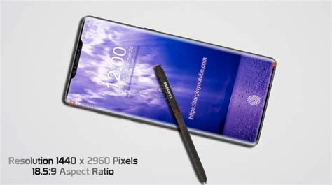 galaxy note ii concept phones samsung galaxy note 9 gets 2018 design with a notch concept phones