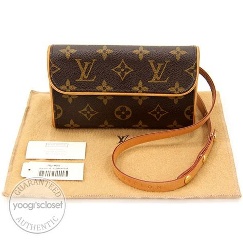 louis vuitton monogram canvas pochette florentine bag