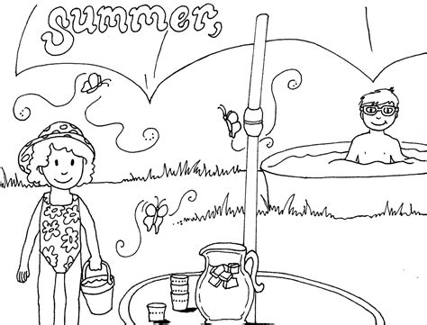 coloring pages 4 seasons free coloring pages of four