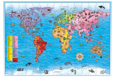 printable jigsaw map of the world world map puzzle and poster jigsaw maps