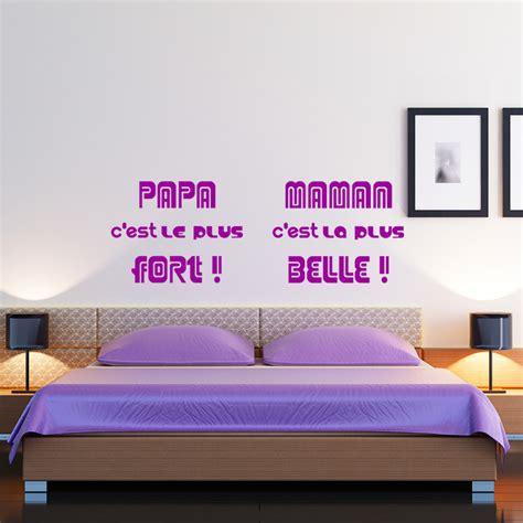 Les Plus Beaux Stickers by Sticker Citation Papa C Est Le Plus Beau Maman C Est La
