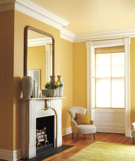 a disposition make sure your home reflects it with a tone on tone yellow and white