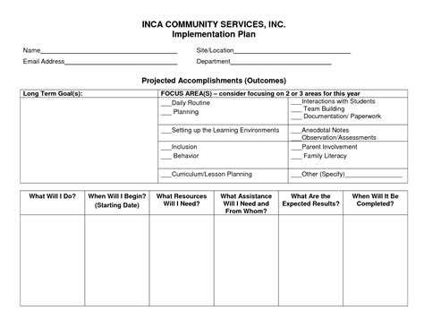 template implementation best photos of business implementation plan template