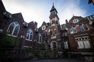 Tub Curtain Urbex St Josephs Orphanage Preston Lancashire May