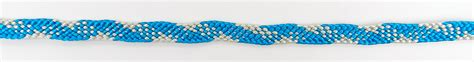 Braiding Cord Patterns - 10 cord kumihimo flat braid
