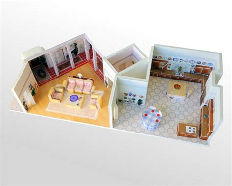 golden girls house layout papercraft golden girls set incredible things