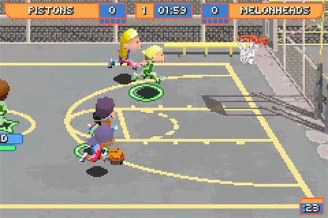 backyard basketball gba backyard basketball screenshots gamefabrique