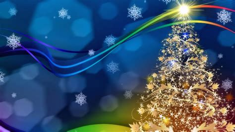 golden christmas tree flakes decorative festive hd wallpaper  desktop