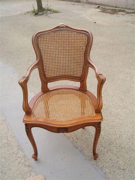 chaise merisier chaise cannee merisier