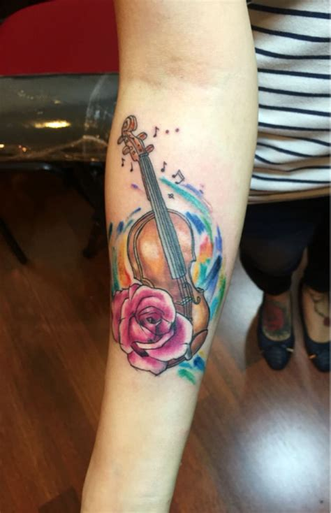 violin tattoo 17 best images about tattoos on penguin s