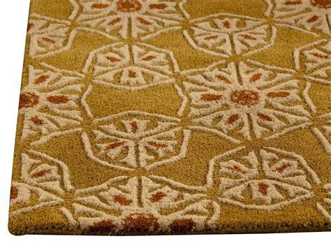 area rug mat mat orange normandie area rug gold