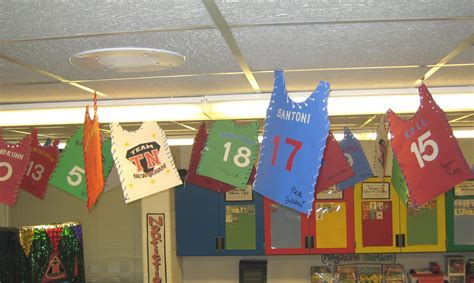 Sport Decorations by Team Sports Beth Newingham S Teaching Resources