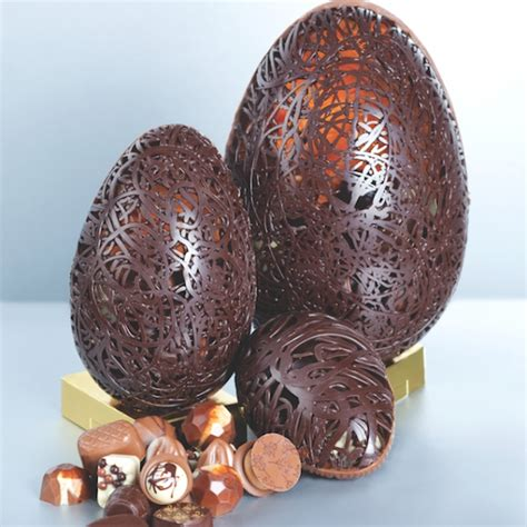 Handmade Chocolate Easter Eggs - belgique