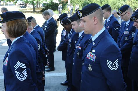 Air Officer by Sf Honors Fallen Comrades During National Week
