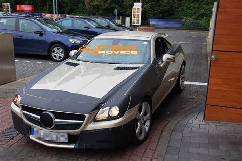 mercedes dealership inside 2011 mercedes benz slk new spy shots inside and out