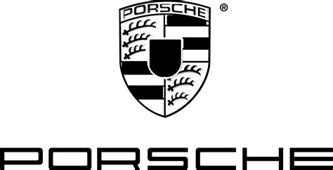 porsche logo black and white porsche logo black and white images