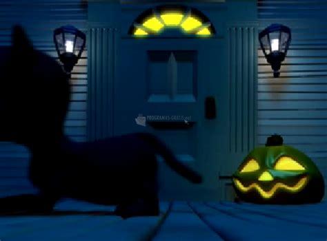 imagenes con movimiento halloween descargar gato negro de halloween gratis
