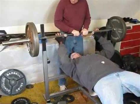 245 bench press bench press 245 x 1 pr youtube