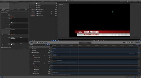 fcpx motion 5 template titre habillage tf1 le jt de 20