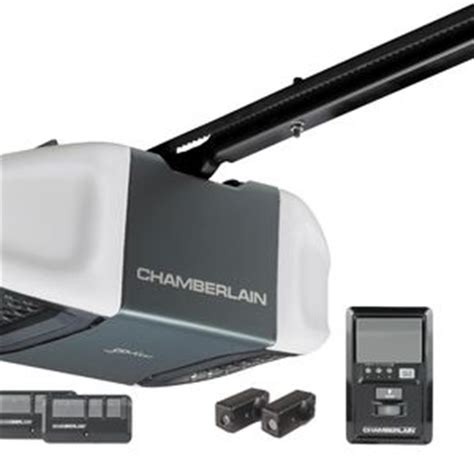 chamberlain 1 2 hp belt drive garage door opener wd832kev