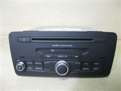 Audi A1 Navigation by Audi A1 Navigation Radio Cd Player 8x0 355 183 F