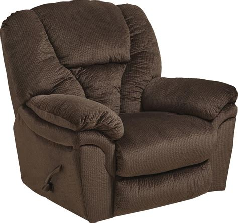 super comfort recliner chaise catnapper drew power lay flat recliner java cn 64613 7